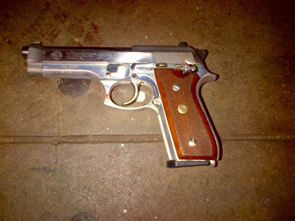 12-20-14 79 Pct Suspect's weapon